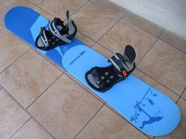 Deska snowboardowa Trespass 150 cm + wiązania