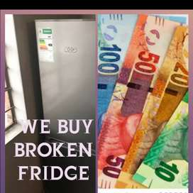 Buying working and non working fridges