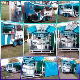 Restaurant n bar on  wheels new design in South Africa