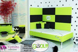 Łóżko dla dziecka,łóżko dziecięce+ panele tapicerowane. Promocja