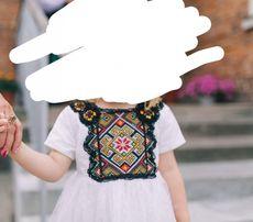 Вишита сукня family look