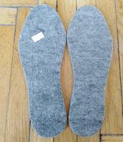 Nowe filcowe wkładki do butów r 37 razem z łyżką do butów