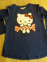 Bluzka, t-schirt z Hello Kitty, rozm. 104/110