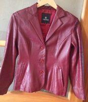 Пиджак кожаный (Италия)