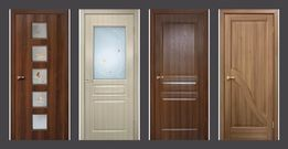 Межкомнатные, ламинированные двери ОМИС! МДФ, ПВХ, Шпон!Установка!