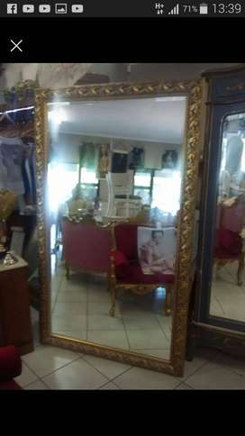 Excellent condition wood mirror frame