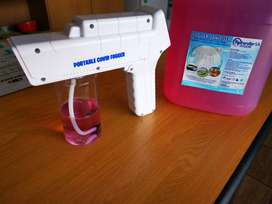 Wireless Nano Fogger Gun with 5Litre Disinfectant