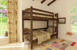 Двухъярусная Деревянная Кровать Бай Бай