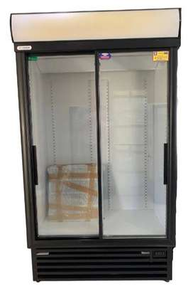 SD1140 Staycold Double Sliding Glass Door Beverage Cooler