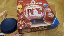 Super Puzzle Ball High School Musical w kształcie globusa kuli.