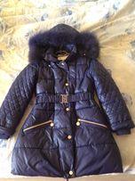 Пальто на 7-10 лет