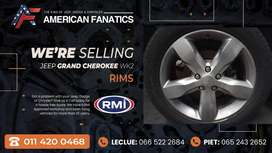 We're selling Jeep Grand Cherokee WK2 preface Rims