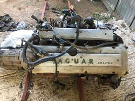 Jaguar 4 liter engine and gearbox