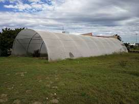 Eco-FriECO- Friendly GREENHOUSE FOOD TUNNEL - FOR SALE