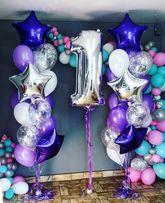 Шарики с гелием. Повітряні кульки. Воздушные шарики
