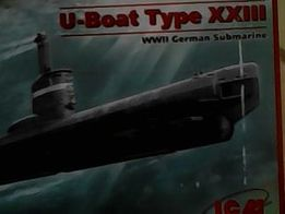 модель подводной лодки 1:144