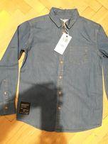piekna koszula jeansowa nowa 152