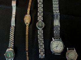 Продаються рабочие и нерабочие советские часы для мужчин и женщин