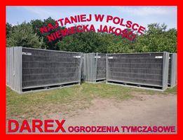 Ogrodzenie tymczasowe budowlane ażurowe NIEMIECKIE 19 zł/mb