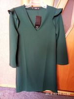 Платье насыщен зеленое