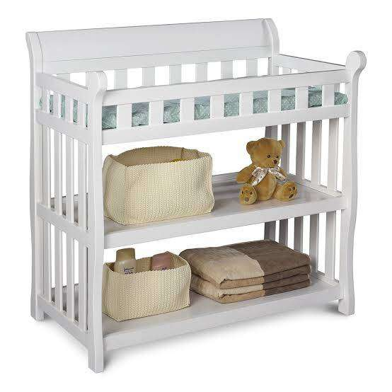 Baby changer table with storage 0