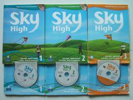PODRĘCZNIK ćwiczenia SKY HIGH CD angielski Pearson Longman PODRĘCZNIKI