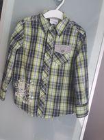 Super koszula chlopieca w krate r. 104