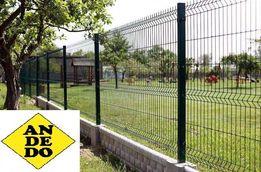 Panele Panel Ogrodzeniowy Ocynk Ogniowy+RAL 150