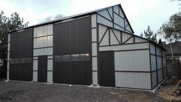 Wiata stalowa hala wiaty hale magazyn garaż blaszany zadaszenie PROFIL