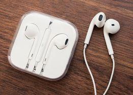 Наушники Earpods Apple Оригинал еарподс разъем Jack 3.5 переходник