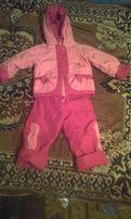 Осенняя курточка, штанишки костюм на девочку 2,3 года