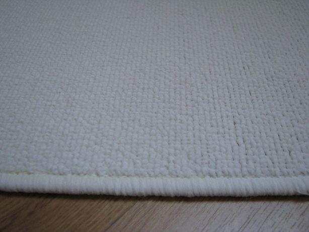 Białe, owalne dywaniki, chodniczki antypoślizgowe 65x44 cm Krapkowice - image 4