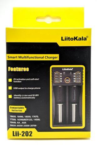 Универсальное зарядное устройство LiitoKala Lii-202 Градижск - изображение 1