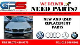 VOLKWAGEN VW / AUDI / MERCEDES / BMW USED AND NEW PARTS / SPARES.