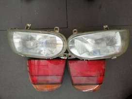 GOLF3 FRONT  R300 EACH  REAR LIGHTS SOLD