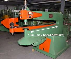 Baldoni Rotary Table Shaper