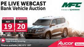 PE MFC Live Webcast Bank Vehicle Auction