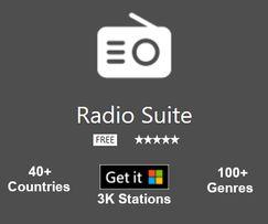 Radio Suite – слушайте бесплатно онлайн радиостанции со всего мира.