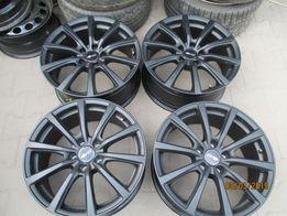 NAJTANIEJ Nowe felgi aluminiowe BROCK 5x120 8,5jx19 et38 czarne