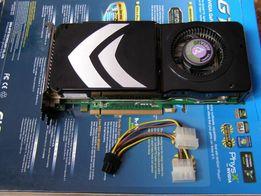 KARTA GRAFIKI NV GeForce 8800 GTS 512MB 2x DVI & TV (PCI-E) Uszkodzona