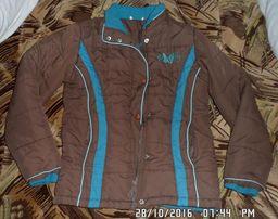 Куртка на синтепоне на возраст 5-7 лет