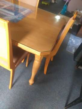 10 seater Dining room table with sideboard