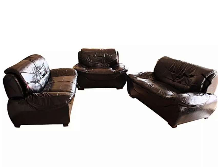 KTD 5 Seater Sofa Set Foot Rest Black 0