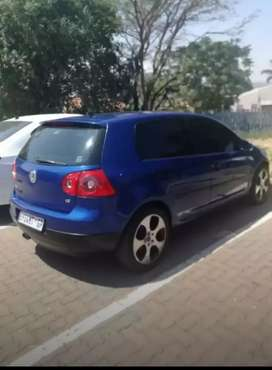 Golf 5 blue for sale