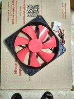 Вентлятор 140х140х24мм 12 вольт 2Вт, тихий не шумны.