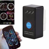 Авто сканер ELM327 V21/1.5 Bluetooth с КНОПКОЙ диагностика OBD2 тестер
