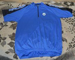 Вело джерси футболка всемирно известного бренда SHAMP, синяя, р. 52-54