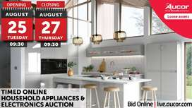 Timed Online Household Appliances & Electronics Auction