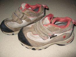 Timberland, dziecinne buciki beżowo-różowe, roz. 24
