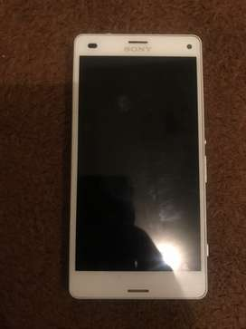 I'm selling my Sony Z3 compact 32gb it's in great condition